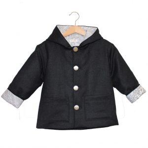 grey baby coat