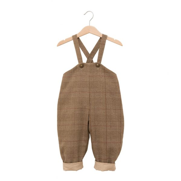 Country-styled overalls with straps
