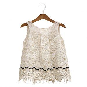 Lace dress 2, black ribbon