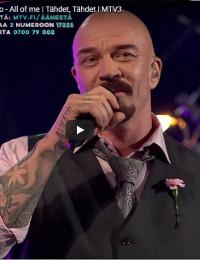 Tähdet Tähdet-live show, October 2017