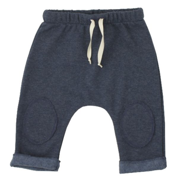 denim blue cotton pants
