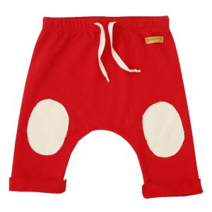 red x-mas pants