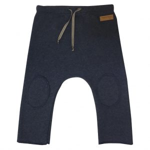 denim blue college pants