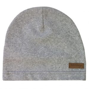 light gray beanie