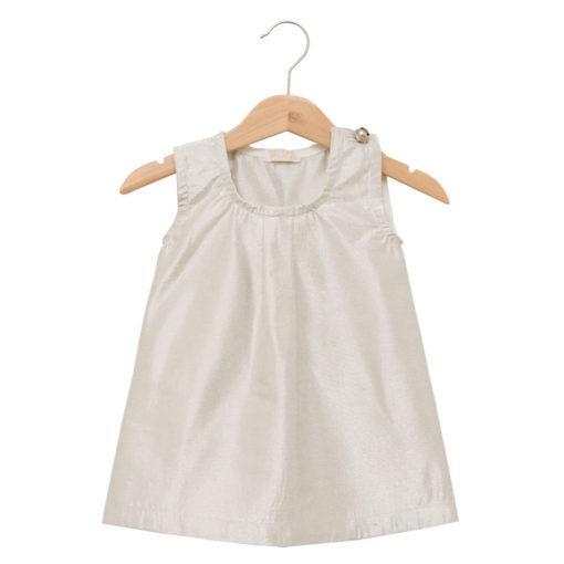 silver angel wing dress