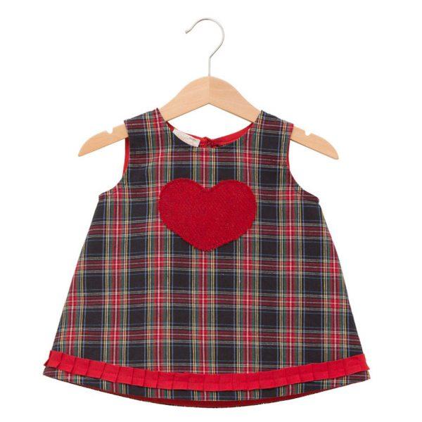 A-line Scottish dress