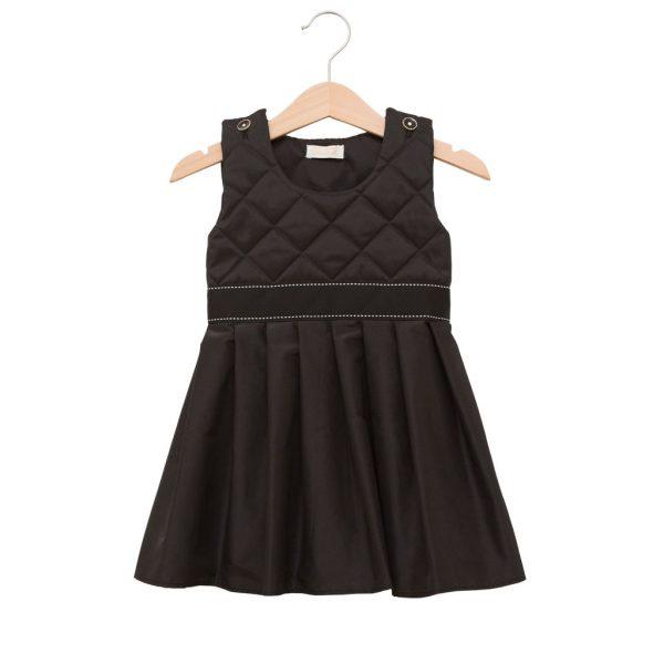 Little black silk dress