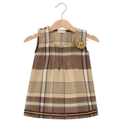 Brown Scottish dress