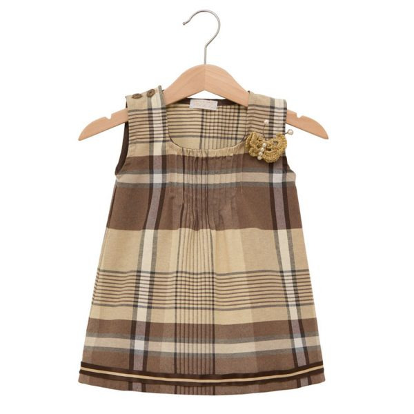 Brown Scottish dress