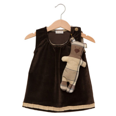 brown teddy dress