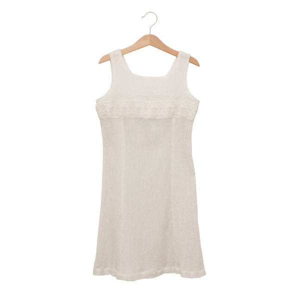 Cotton angel wing dress