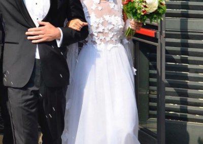 International wedding in Italy