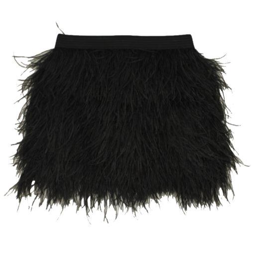 ostrich skirt