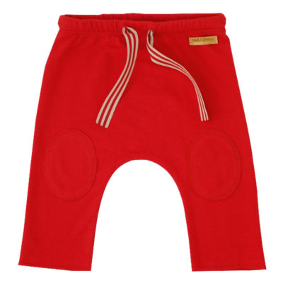 red college pants
