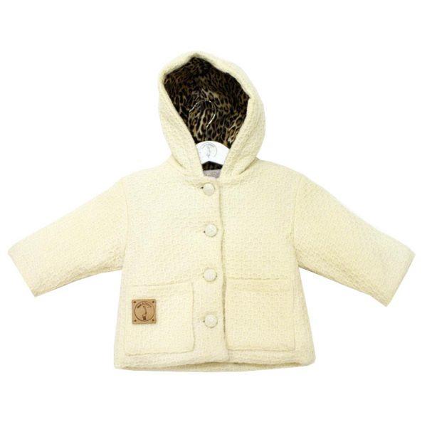 baby coat white