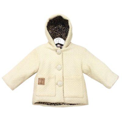 baby jacket white