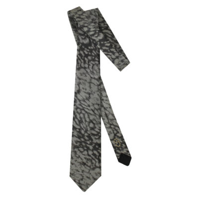 black gray came tie