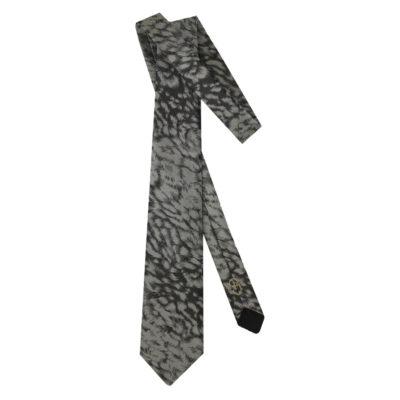 black gray came tie