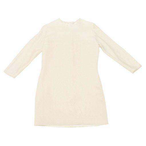 white-silk-dress