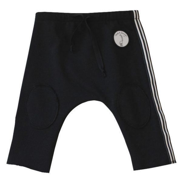 Black stripy pants 2