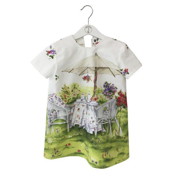 picnic print dress