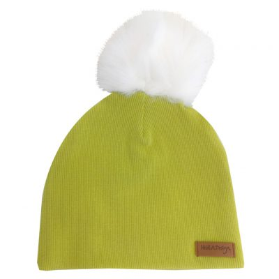 apple green beanie