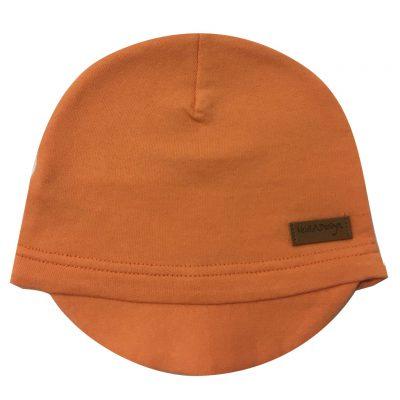beanie with lid orange
