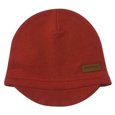 rusty beanie with lid