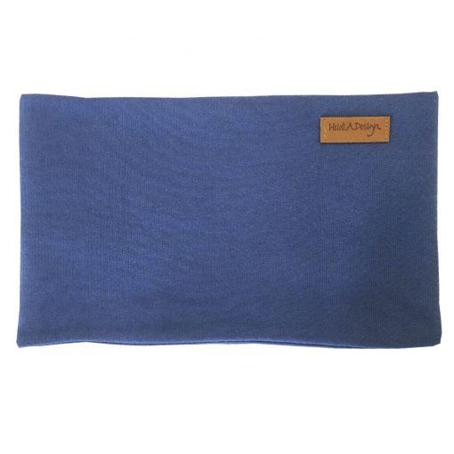 blue tube scarf
