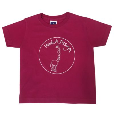 bright fuchsia t-shirt