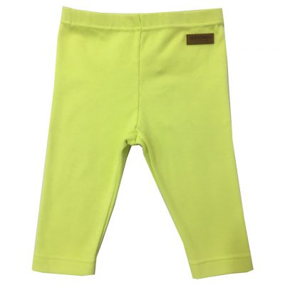 leggings neon yellow