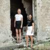 T-shitrts models Salla and Sarita