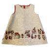 Linen A-lined dress