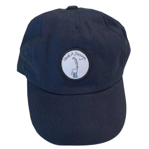 dark blue cap