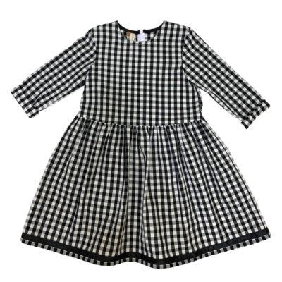 B&W squared dress