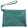 TURQUOISE LEATHER BAG, LEFT