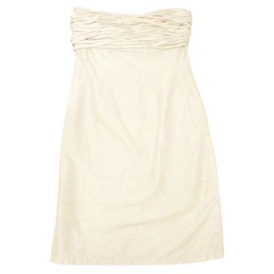 silky ribbon dress