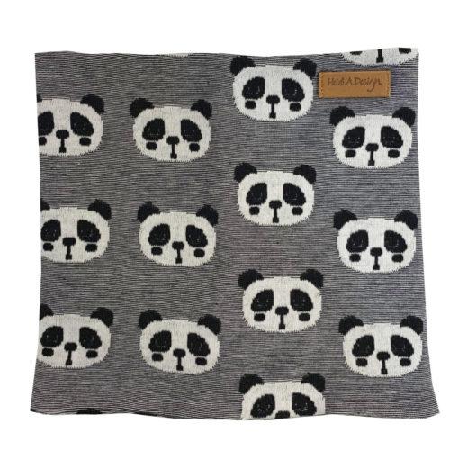 Panda tube scarf