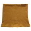 mustard tube scarf