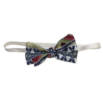 Maroccan fabric bow