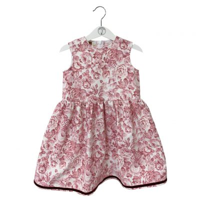 Toddler old rose skirt