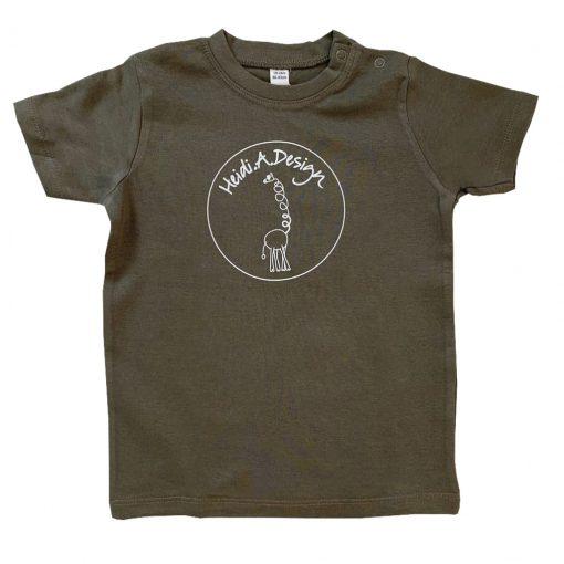 Army green t-shirt