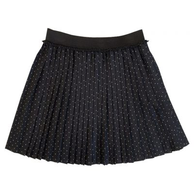 Black dotted skirt