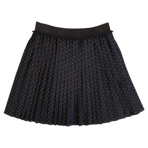 Black dotted skirt