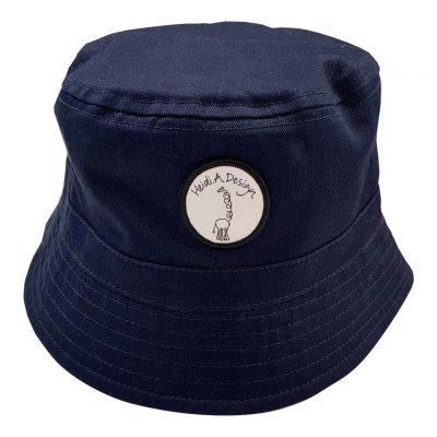 Bucket cap navy