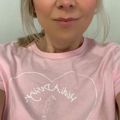 Me, heart logo t-shirt