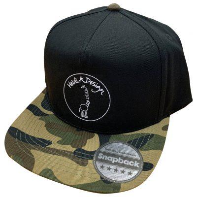 Cap black, army brim