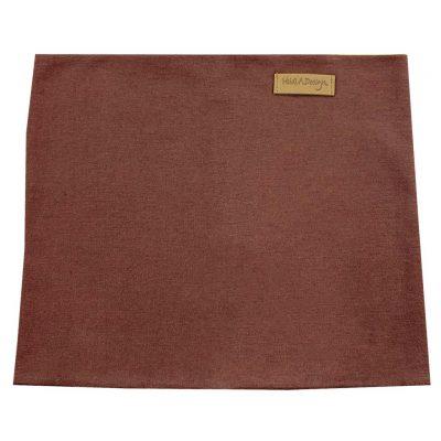 Chocolate brown tube scarf