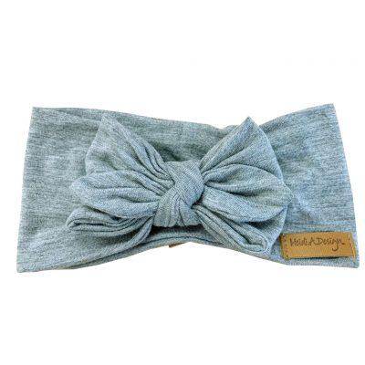 Light gray head wrap