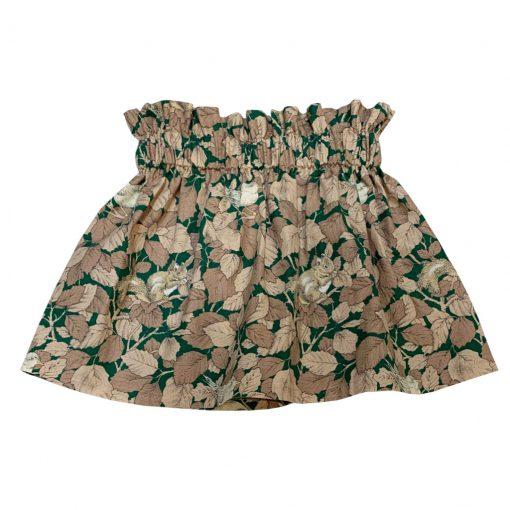 Green squirrel skirt